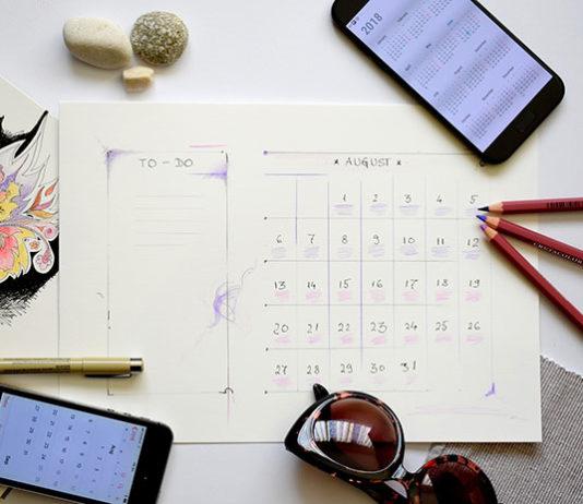 Czy kalendarz B6 dzienny jest praktyczny?